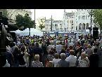 المعارضة المجرية تعلن بدء سلسلة من المظاهرات اليومية في بودابيست