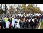 آلاف المتظاهرين يملأون شوارع سانتياغو في إطار إضراب مفتوح لهيئة التدريس