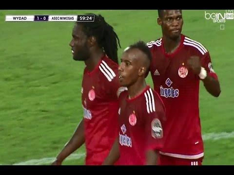 بالفيديو هدف اللاعب عبد العظيم خضروف في مرمى أسيك أبيدجان