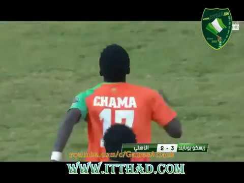 بالفيديو أبرز كرات كلاوتس تشاما لاعب وسط الاتحاد الجديد وزيسكو الزامبي السابق