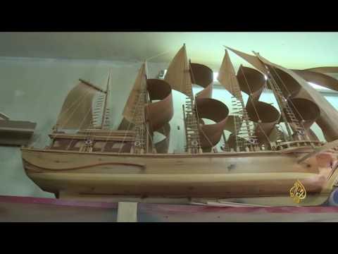 مصر اليوم - لبناني يعيد تصميم سفن ومراكب مستوحاه من كتب التاريخ