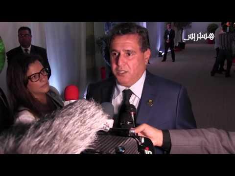 مصر اليوم - شاهد عزيز أخنوش في معرض الزراعة في مدينة مكناس المغربية