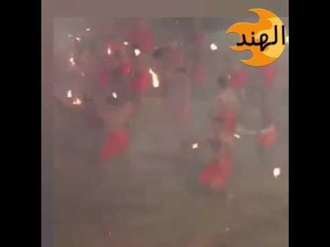 مصر اليوم - مشاجرة بالنيران في الهند