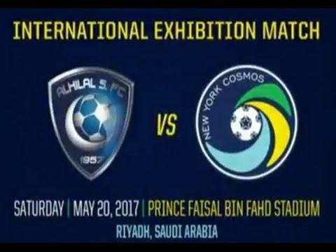 بالفيديو  الهلال يقابل فريقًا أميركيًا في مباراة ودية