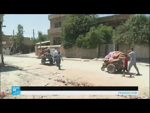 مصر اليوم - بالفيديو عائلات عراقية تعود إلى الأحياء المحرّرة في الموصل