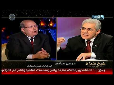 مصر اليوم - شاهد تعليق عبد الحليم قنديل عن حمدين صباحي