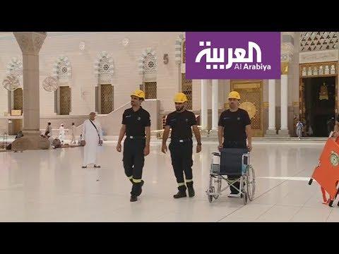 مصر اليوم - شاهد مديرية الدفاع المدني تجهز طواقمها الإسعافية