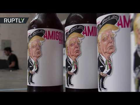مصر اليوم - شاهد ترامب أحدث أنواع الدعاية لـبيرة الأصدقاء في المكسيك
