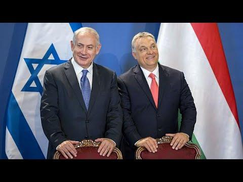 مصر اليوم - شاهد نتانياهو في زيارة تاريخية إلى بودابست مسقط رأس هرتزل
