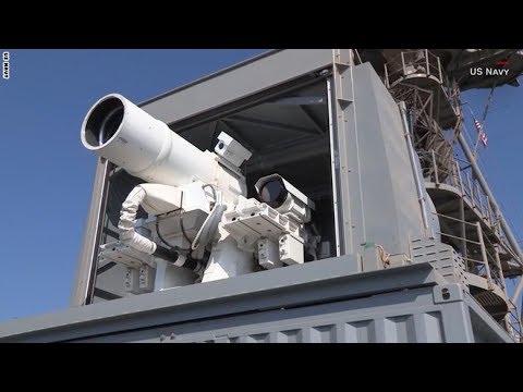 مصر اليوم - شاهد البحرية الأميركية تمتلك أول سلاح ليزر حيّ