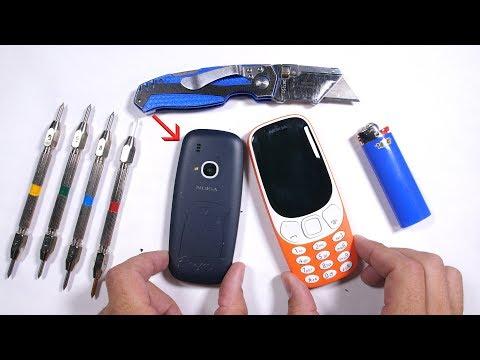 مصر اليوم - هاتف نوكيا 3310 ينجح في اختبار المتانة والانحناء والحرق