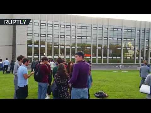 مصر اليوم - شاهد إجلاء طلاب معهد العلاقات الدولية في موسكو