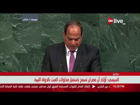 مصر اليوم - شاهد السيسي يؤكّد أنّ الوقت حان لمعالجة شاملة للقضية الفلسطينية