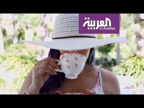 مصر اليوم - بالفيديو  كيف تنسقين طاولة الحديقة لشرب الشاي