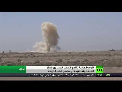 مصر اليوم - شاهد القوات العراقية تستعيد عنة في غربي الأنبار