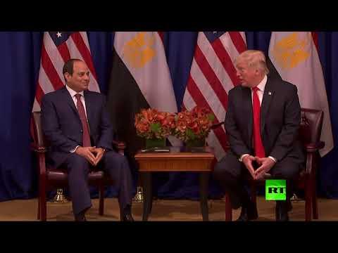مصر اليوم - شاهد لقاء بين عبد الفتاح السيسي ودونالد ترامب على هامش الجمعية العامة