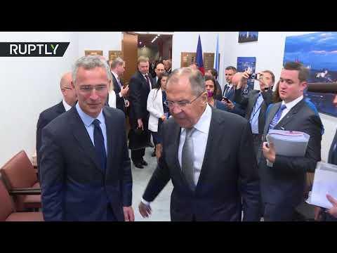 مصر اليوم - شاهد لافروف يبحث مع ستولتنبرغ آفاق العلاقات بين روسيا وحلف الناتو