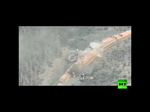 مصر اليوم - لحظة تصدي الجيش المصري لمحاولة إرهابية فاشلة لاستهداف نقاط تأمين بمنطقة القواديس