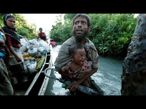مصر اليوم - شاهد مقتل 8 أشخاص إثر غرق قارب للروهينغا قبالة بنغلاديش