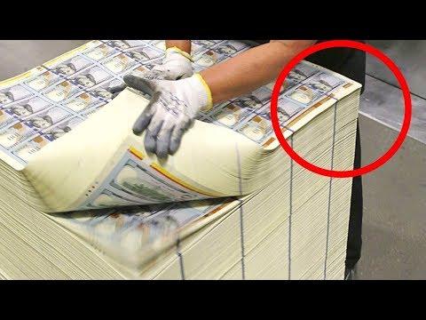 شاهد آلات طباعة الأوراق المالية