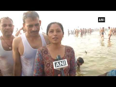 شاهد الهندوس يحتفلون بمهرجان ماكار سانكرانتي