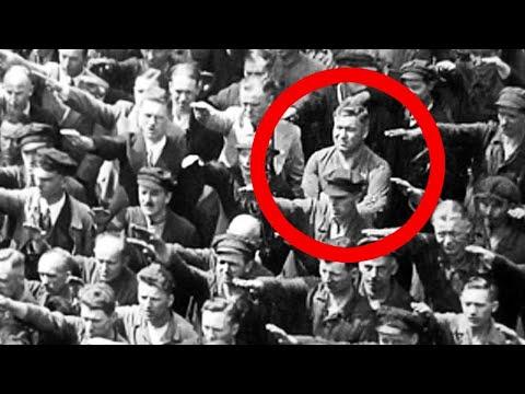 شاهد ما الذي حدث للشخص الذي  رفض أن يحيي هتلر  ،