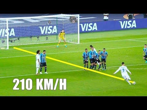 شاهد أفضل 10 مسددي الأهداف القوية في كرة القدم