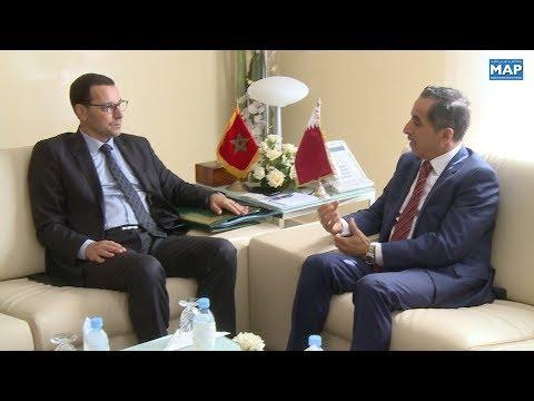 شاهد سبل تفعيل البرامج المشتركة بين المغرب وقطر