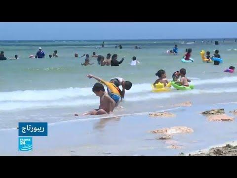 شاهدتوقف محطات معالجة الصرف الصحي في ليبيا يلوث الشواطئ
