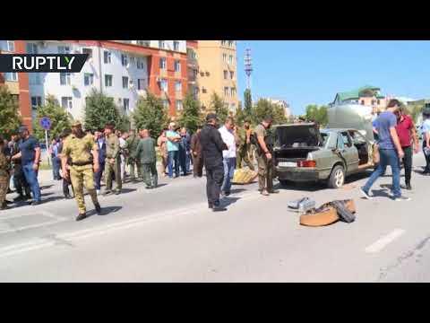 شاهد إحباط سلسلة هجمات على رجال الشرطة في الشيشان
