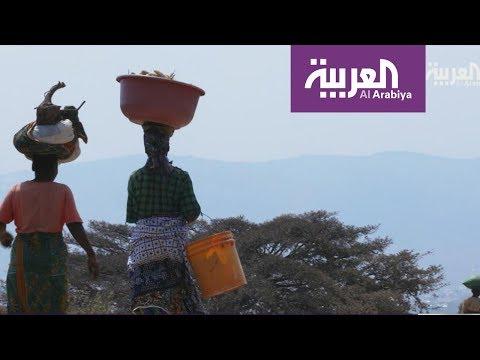 شاهد النساء تُشارك الرجال في البناء والزراعة في تنزانيا
