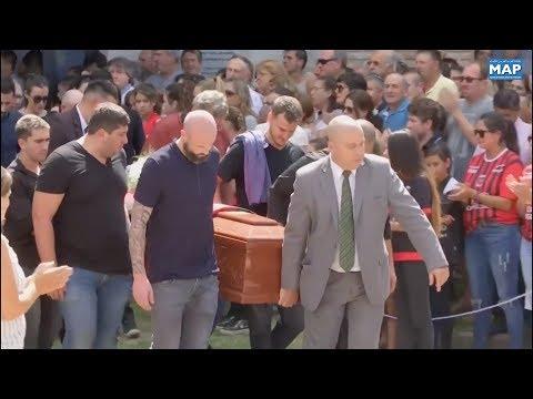 شاهدالأرجنتينيون يودّعون جثمان اللاعب إيميليانو سالا إلى مثواه الأخير
