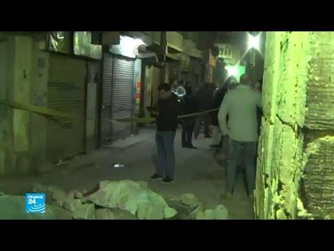 شاهد مقتل 3 شرطيين ومتطرف في القاهرة