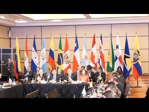شاهد مجموعة ليما تدعو إلى دعم الانتقال نحو الديمقراطية في فنزويلا