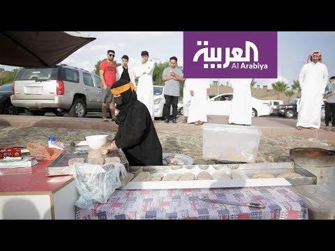 شاهد مأكولات رمضانية مميزة في سوق أبها