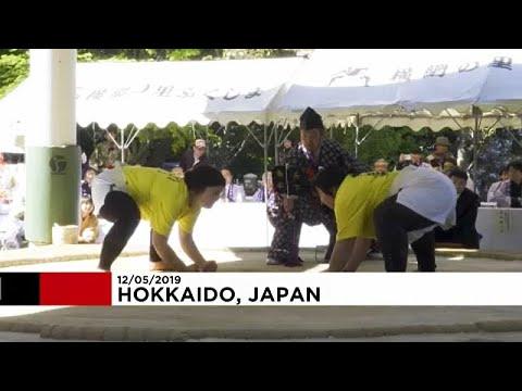 اليابان تُنظم دورة نسائية استثنائية في رياضة السومو