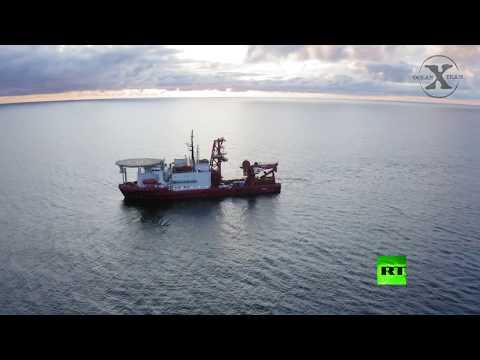شاهد العثور على 900 زجاجة كونياك نادر في قاع بحر البلطيق