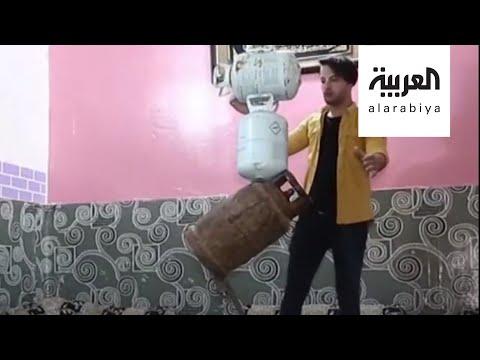 شاهد شاب عراقي يخرج عن المألوف ويتحدى الجاذبية