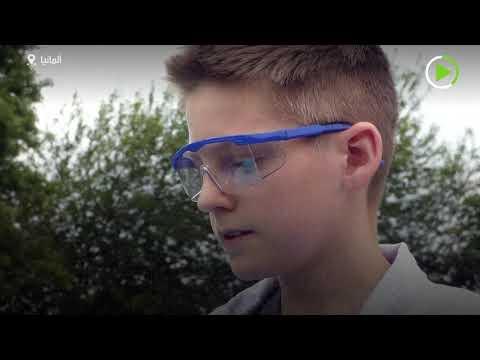 شاهد طفل ألماني يُحاول كسر رقم غينيس العالمي بـمعجون أسنان الفيل