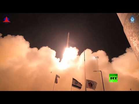 شاهد إسرائيل تطلق قمرًا صناعيًا استطلاعيًا جديدًا