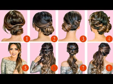 10 elegant holiday hairstylesupdos