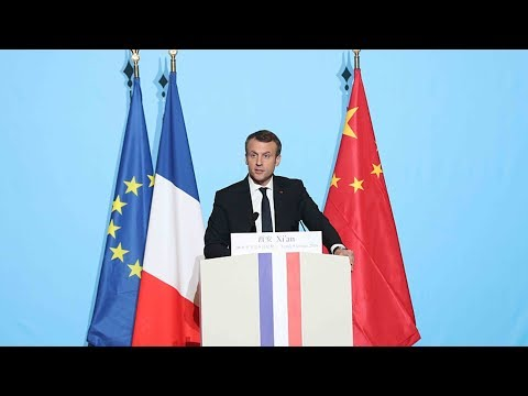 macrons visit to china business deals on the agenda