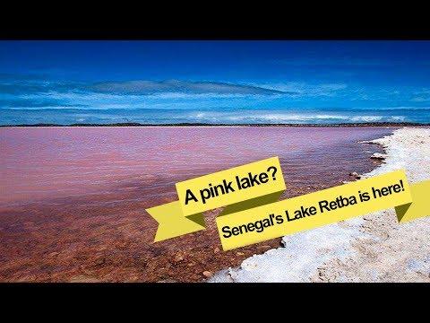 senegal's lake retba is here