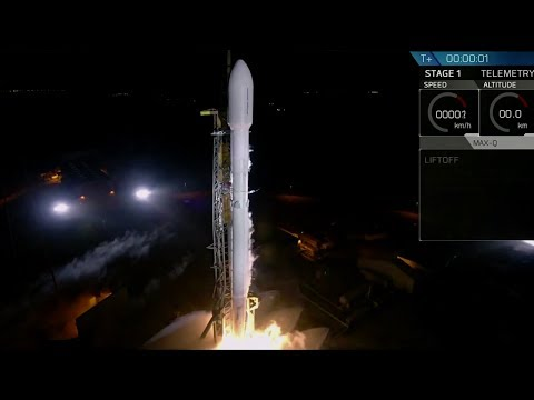 spacex launches top secret government satellite into space