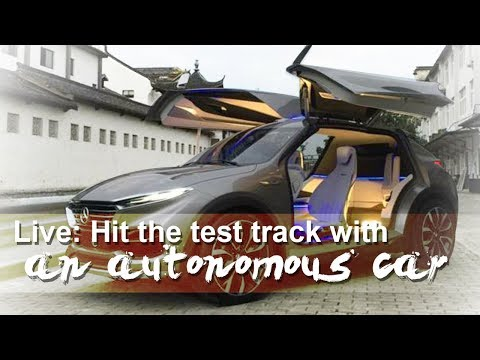 hit the test track with an autonomous