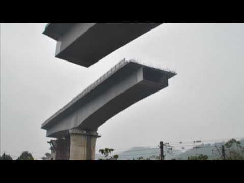 key bridge in china railway system upgrade docked