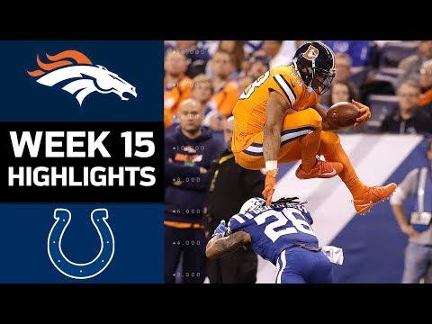 broncos vs coltsnfl week 15 game