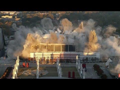 georgia dome imploded
