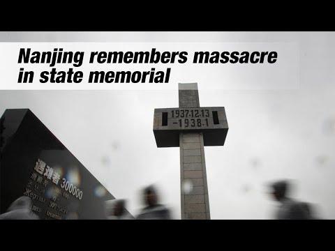 nanjing remembers massacre in state memorial