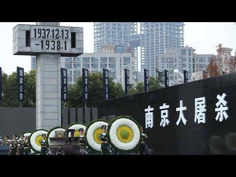 china urges japan to treasure peace at nanjing massacre memorial